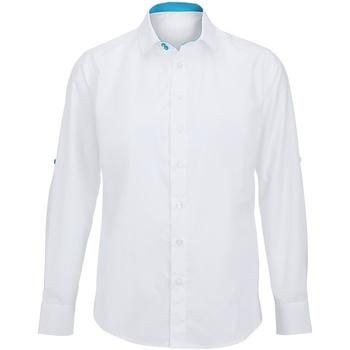 Textiel Heren Overhemden lange mouwen Alexandra Hospitality Witte Pauw