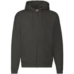 Textiel Heren Sweaters / Sweatshirts Fruit Of The Loom 62034 Charcoal