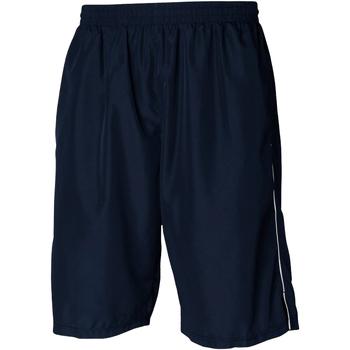 Textiel Heren Korte broeken / Bermuda's Tombo Teamsport Longline Marine / Wit