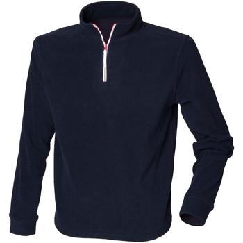 Textiel Heren Fleece Finden & Hales LV570 Marine / Wit