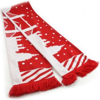 Accessoires Sjaals Universal Textiles  Rood/Wit