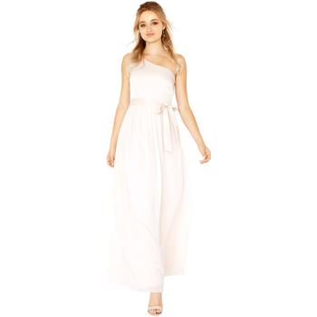 Textiel Dames Lange jurken Little Mistress  Naakt