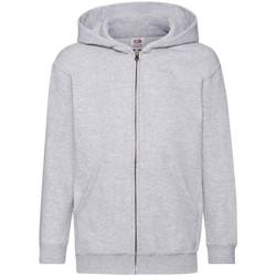 Textiel Kinderen Sweaters / Sweatshirts Fruit Of The Loom 62045 Heather Grijs