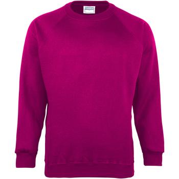 Textiel Kinderen Sweaters / Sweatshirts Maddins MD01B Framboos