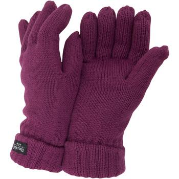 Accessoires Dames Handschoenen Floso  Framboos