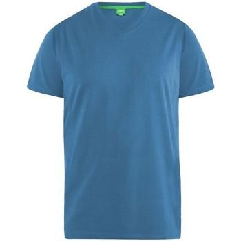 Textiel Heren T-shirts korte mouwen Duke  Teal