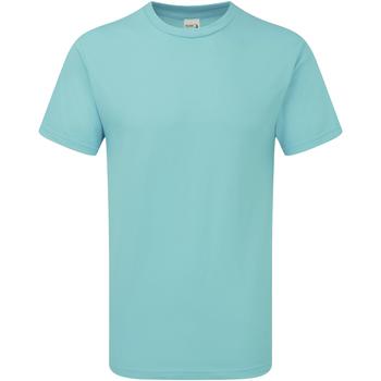 Textiel Heren T-shirts korte mouwen Gildan H000 Krijtachtige munt