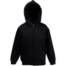 Textiel Kinderen Sweaters / Sweatshirts Fruit Of The Loom SS825 Zwart