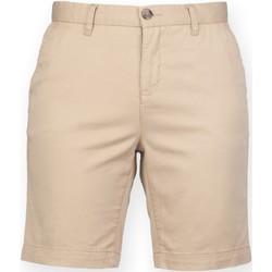 Textiel Dames Korte broeken / Bermuda's Front Row FR606 Steen