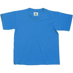 Textiel Kinderen T-shirts korte mouwen B And C TK300 Atol