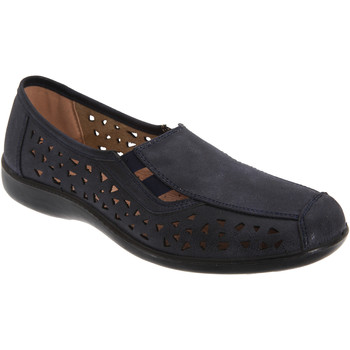 Schoenen Dames Mocassins Boulevard  Marineblauw