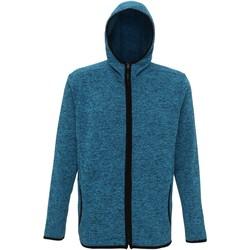 Textiel Heren Fleece Tridri TR071 Saffier/Zwarte Vlek