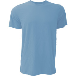 Textiel Heren T-shirts korte mouwen Bella + Canvas CA3001 Heather Columbia Blauw
