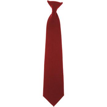 Textiel Heren Stropdassen en accessoires Yoko CT01 Bourgondië