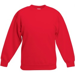 Textiel Kinderen Sweaters / Sweatshirts Fruit Of The Loom SS801 Rood