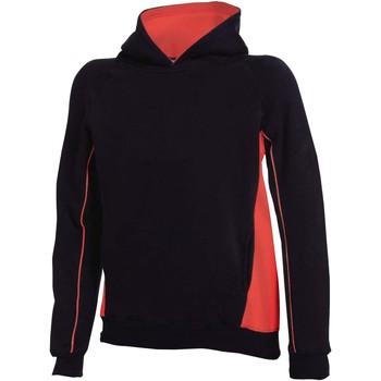 Textiel Kinderen Sweaters / Sweatshirts Finden & Hales LV339 Zwart/Rood