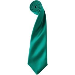 Textiel Heren Stropdassen en accessoires Premier PR750 Smaragd