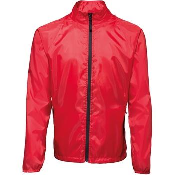 Textiel Heren Windjack 2786  Rood/ Zwart