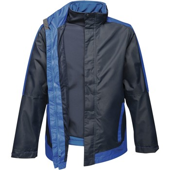 Textiel Heren Windjack Regatta RG664 Marine / Nieuw Koningsblauw