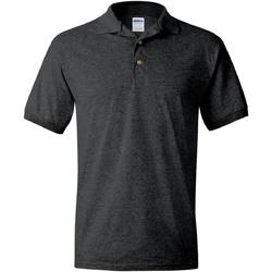 Textiel Heren Polo's korte mouwen Gildan 8800 Donkere Heide