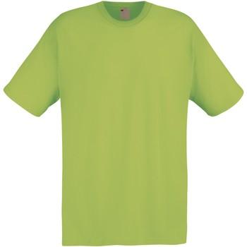 Textiel Heren T-shirts korte mouwen Universal Textiles 61082 Voorjaarsgroen