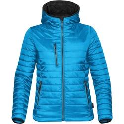 Textiel Dames Dons gevoerde jassen Stormtech ST804 Elektrisch Blauw/ Zwart