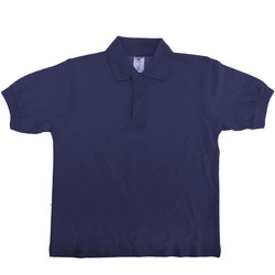 Textiel Kinderen Polo's korte mouwen B And C PK486 Marineblauw