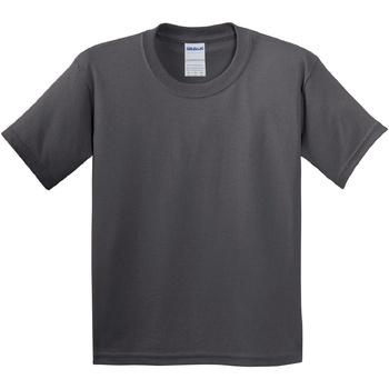 Textiel Kinderen T-shirts korte mouwen Gildan 64000B Houtskool
