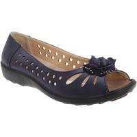 Schoenen Dames Sandalen / Open schoenen Boulevard  Marineblauw