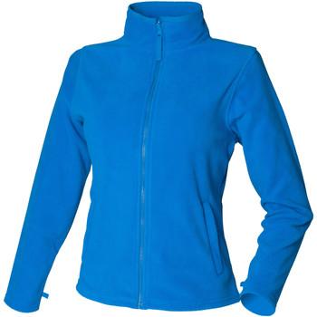 Textiel Dames Fleece Henbury HB851 Levendig Blauw