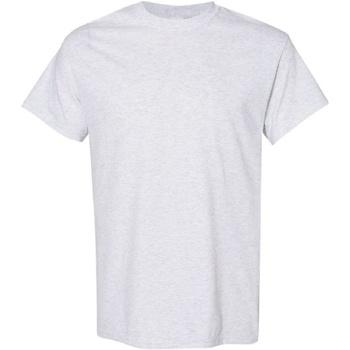 Textiel Heren T-shirts korte mouwen Gildan Heavy Asgrijs