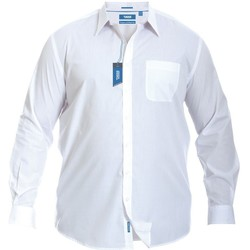 Textiel Heren Overhemden lange mouwen Duke  Wit
