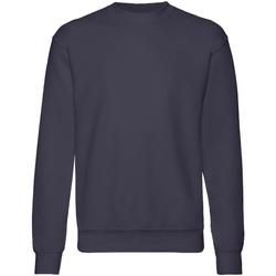 Textiel Kinderen Sweaters / Sweatshirts Fruit Of The Loom  Deep Marine