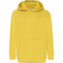 Textiel Kinderen Sweaters / Sweatshirts Fruit Of The Loom 62043 Zonnebloem