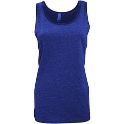 Textiel Dames Mouwloze tops Bella + Canvas CA3480 Heide-Marineblauw