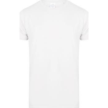 Textiel Kinderen T-shirts korte mouwen Skinni Fit SM121 Wit