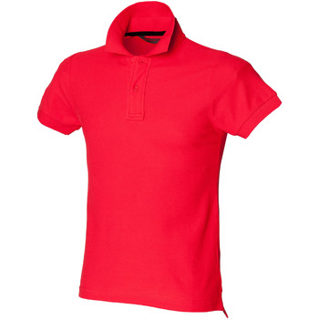 Textiel Heren Polo's korte mouwen Skinni Fit SFM47 Helder rood