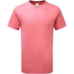 Textiel Heren T-shirts korte mouwen Gildan H000 Koraalzijde
