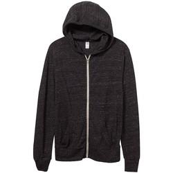 Textiel Heren Sweaters / Sweatshirts Alternative Apparel AT002 Eco Zwart