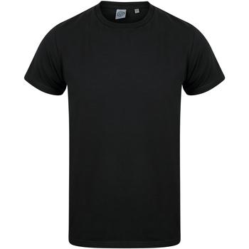 Textiel Kinderen T-shirts korte mouwen Skinni Fit SM121 Zwart