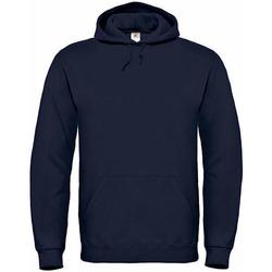 Textiel Heren Sweaters / Sweatshirts B And C WU620 Marine Blauw