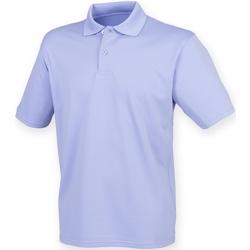 Textiel Heren Polo's korte mouwen Henbury HB475 Lavendel