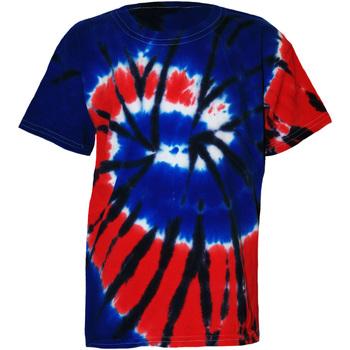 Textiel Kinderen T-shirts korte mouwen Colortone TD02B Onafhankelijkheid