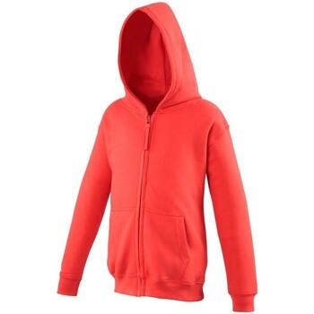 Textiel Kinderen Sweaters / Sweatshirts Awdis JH50J Vuurrood