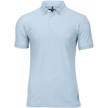 Textiel Heren Polo's korte mouwen Nimbus NB52M Hemelsblauw