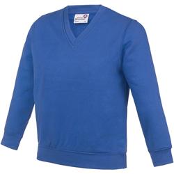 Textiel Kinderen Sweaters / Sweatshirts Awdis AC03J Koningsblauw