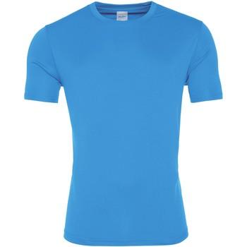 Textiel Heren T-shirts korte mouwen Awdis JC020 Saffierblauw