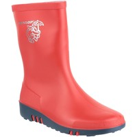 Schoenen Kinderen Regenlaarzen Dunlop K131510  Mini Elephant Rood/Blauw