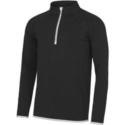 Textiel Heren Sweaters / Sweatshirts Awdis JC031 Jet Zwart / Arctisch Wit