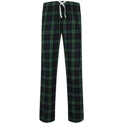 Textiel Heren Pyjama's / nachthemden Skinni Fit SFM83 Navy/Groene controle